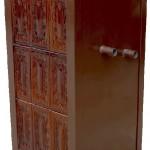 Soba teracota pentru incalzit, cu 5 randuri, tip centrala